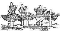 Проект Кластера. Архит. А. Исодзаки