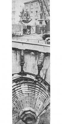 Проходка шахтного ствола в тиксотропной рубашке