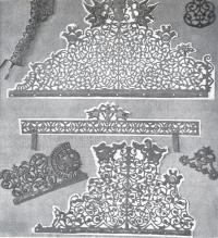 Просечное железо. Фрагменты и детали украшений XVII—XVIII вв.