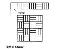 Прямой квадрат