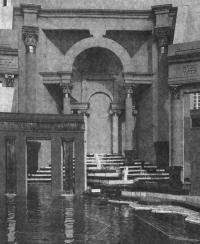 Пьяцца д'Италия в Новом Орлеане — интерьер архитектурного объекта