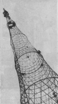 Радиомачта на Шаболовке Инженер В. Шухов, 1922