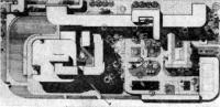 Рангун, Бирма. Комплекс посольства СССР. Проект 1974—1976 гг. Генплан
