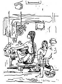 Рангун, Бирма. Путевые зарисовки 1976 г.
