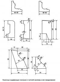 Различные модификации плинтусов и галтелей (продолжение)