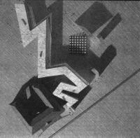 Развитие Еврейского музея в Берлине. Макет. Д. Либескинд, 1989