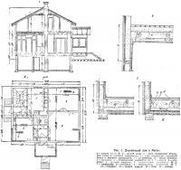 Рис. 1. Деревянный дом в Ристе