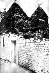 Рис. 1. Трулли в г. Альберобелло