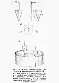 Рис. 10. Конус СтройЦНИЛа (вариант с укороченным стержнем)