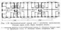 Рис. 1.10. Крупнопанельный жилой дом серии I-515. План типового этажа