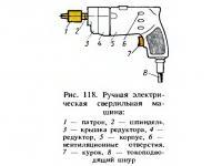 Рис. 118. Ручная электрическая сверлильная машина