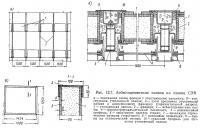 Рис. 12.7. Асбестоцементные панели на здании СЭВ
