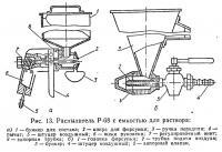 Рис. 13. Распылитель Р-68 с емкостью для раствора