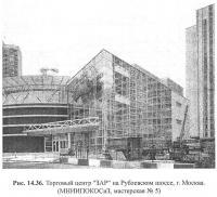 Рис. 14.36. Торговый центр ЗАР на Рублевском шоссе, г. Москва