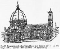 Рис. 17. Флорентийский собор Санта Мария дель Фиоре