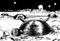 Рис. 17. Пневматические сооружении на планете