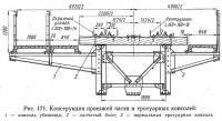 Рис. 171. Конструкция проезжей части и тротуарных консолей