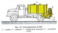 Рис. 19. Автогудронатор Д-640