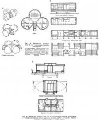 Рис. 20. Мобильные жилища (тип Б) из трансформирующихся конструкций