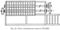 Рис. 22. План глиномешалки агрегата СМ-296А