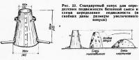Рис. 22. Стандартный конус для определения подвижности бетонной смеси