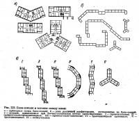 Рис. 223. Блок-секция и вставки между ними