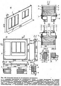 Рис. 229. Стеновые панели из полимерных материалов
