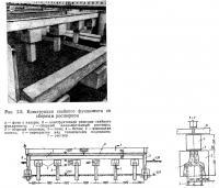 Рис. 2.5. Конструкция свайного фундамента со сборным ростверком