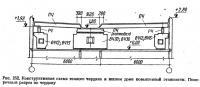 Рис. 252. Конструктивная схема теплого чердака в жилом доме повышенной этажности