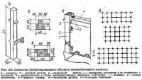 Рис. 253. Элементы унифицированного сборного железобетонного каркаса