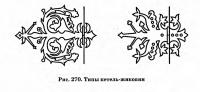Рис. 270. Типы петель-жиковин