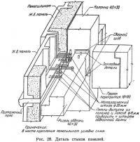 Рис. 28. Деталь стыков панелей