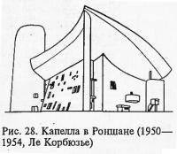 Рис. 28. Капелла в Роншане