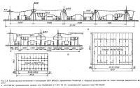 Рис. 2.9. Полосы отчуждения для электропередачи переменного тока