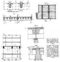 Рис. 3.3. Типовое решение унифицированного каркаса для домов серий II-57, II-49, 1605