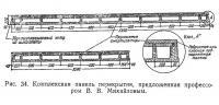 Рис. 34. Комплексная панель перекрытия, предложенная профессором В. В. Михайловым