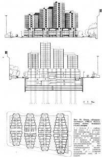 Рис. 39. Отель «Лондон-Сентрал», УМСА