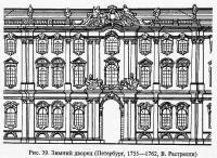 Рис. 39. Зимний дворец. Петербург