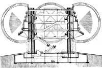 Рис. 4. Павильон США для ЭКСПО-70. Второй проект