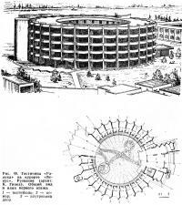 Рис. 40. Гостиница «Ралука» на курорте «Венус», Румыния