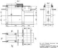 Рис. 4.17. Сборный фундамент под дутьевой вентилятор