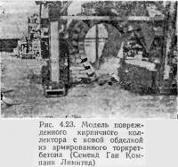 Рис. 4.23. Модель поврежденного кирпичного коллектора