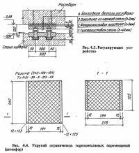 Рис. 4.4. Упругий ограничитель горизонтальных перемещений (демпфер)
