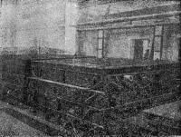 Рис. 45. Тепловая обработка наружных стеновых панелей в закрытых формах