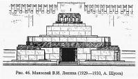 Рис. 46. Мавзолей В. И. Ленина