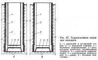 Рис. 47. Гидроизоляция опускных колодцев