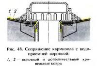 Рис. 48. Сопряжение кармизола с водоприемной воронкой