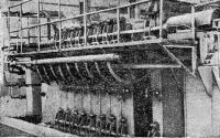 Рис. 51. Система пароснабжения кассет
