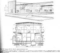Рис. 5.19 Здание ГРУ 6—10 кВ с двумя системами шин