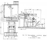Рис. 53. Плитовыбивное устройство фирмы «Трэуллит»